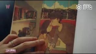 【免费送书】《W》同款插画卖断货!这究竟是本怎样的男友调教神书?