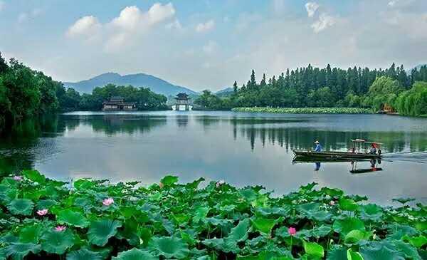西湖十景 ten scenes of west lake